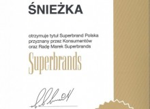 Superbrands для бренда Śnieżkа